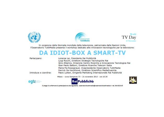 Da Idiot-Box a Smart-Television