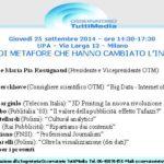 """""""Le grandi metafore che hanno cambiato l'industria"""" OTM 25 settembre UPA Milano"""