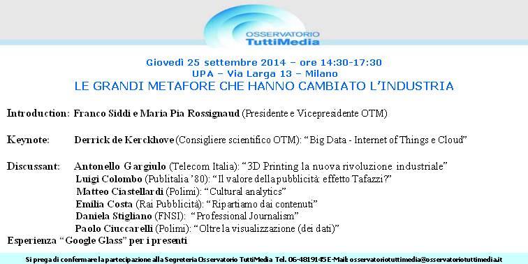 Invito OTM_25 settembre UPA Milano