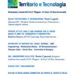 """""""Giovani e Lavoro, Territorio e Tecnologia"""": mercoledì 5 novembre seminario a Montecitorio"""
