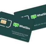 """""""WhatSim"""", la prima """"WhatsApp Sim"""" per chattare gratis in tutto il mondo"""