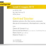 Innovazione, informazione e crescita: lunedì 4 maggio Gerfried Stocker all'Agi