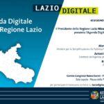 Giovedì 18 giugno, presentazione dell'Agenda Digitale della Regione Lazio
