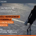 24/11 ore 9.00 – Management al femminile Tra Knowledge e identità