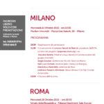 Upaperlacultura.org 21 ottobre Milano – 28 ottobre Roma
