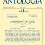 """150 anni della Nuova Antologia – """"Scenari per il XXI Secolo"""""""