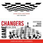 Game Changers TedxRoma 9 aprile Roma con Derrick de Kerckhove e Candace Johnson