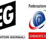 FIEG e FNSI su contratto giornalisti accordo distante
