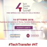 14 ottobre 4T – Tech Transfer Think Tank