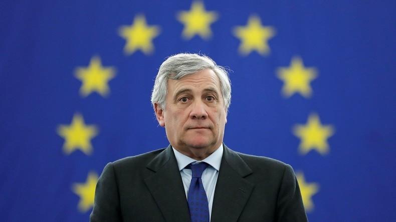 Tajani Parlamento europeo