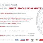 Informazione - post verità e menzogne 9 marzo FNSI Roma