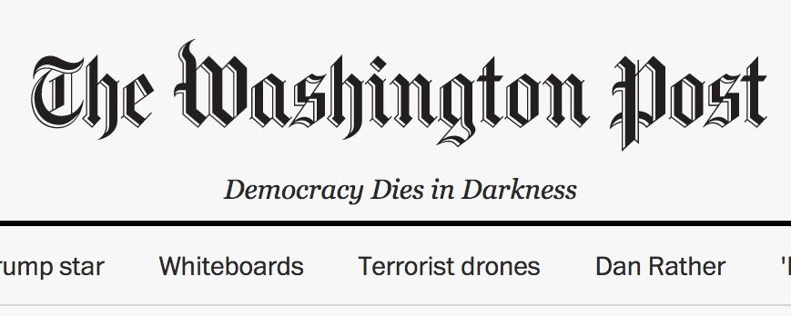 Washington Post e fake news