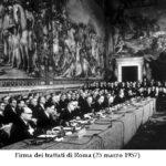 60° anniversario della firma dei Trattati istitutivi della CEE