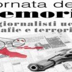 Giornata della Memoria in ricordo dei giornalisti uccisi