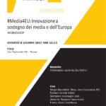 #Media4EU: Innovazione a sostegno dei media e dell'Europa
