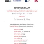 Libro Bianco sulla Comunicazione Digitale 27 giugno Milano