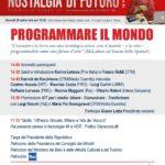 Programmare il mondo - Nostalgia di Futuro 2017 - 28 settembre Milano