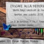 Modena: de Kerckhove su identità – tempo – complessità