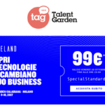 Futureland Talent Garden 9 e 10 novembre Milano