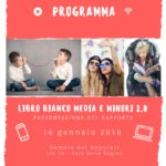 Libro Bianco media e minori 2.0 - 16 gennaio Roma
