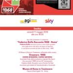 Agi e Sky presentano Federico Buffa racconta 1968 Roma – oggi alle ore 18 Roma