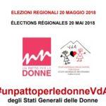 Gli Stati Generali delle Donne e la Valle d'Aosta: il patto siglato