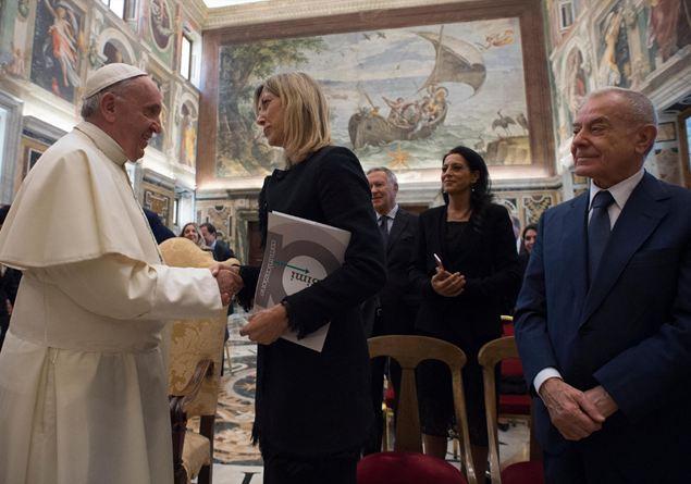 Papa Francesco Premio Biagio Agnes