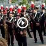 La Fanfara dei Carabinieri suona Vasco Rossi per Giancarlo Siani