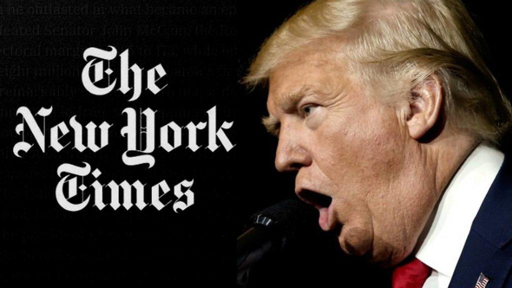 NYT vs Trump