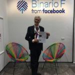 Facebook e competenze digitali: a scuola al  Binario F (Roma naturalmente!)