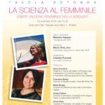 La scienza al femminile – 13 dicembre Roma
