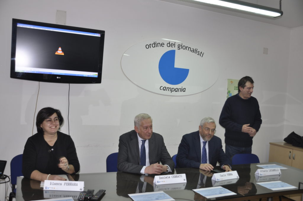 Vincitori Seconda edizione del Premio giornalistico nazionale Mimmo Ferrara