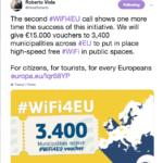 WiFiEU: 51 milioni finanziati dall'Europa