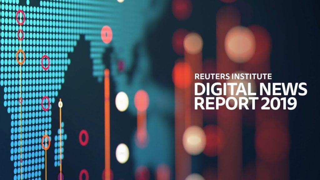 Il Rapporto Reuters 2019 ed il giornalismo online.