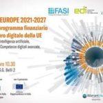 Digital Europe 2021-2027 - 15 novembre Roma