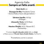 Il futuro dell'informazione dalla storia d'Italia all'editoria 5.0 - 2 dicembre Milano