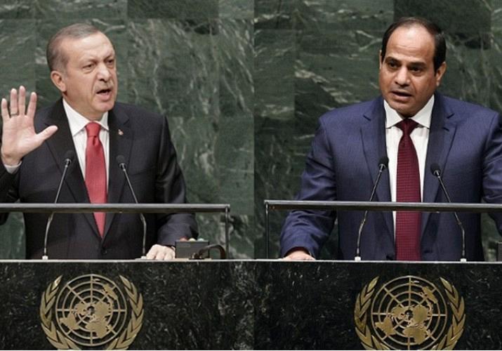 Al-Sisi ed Erdogan
