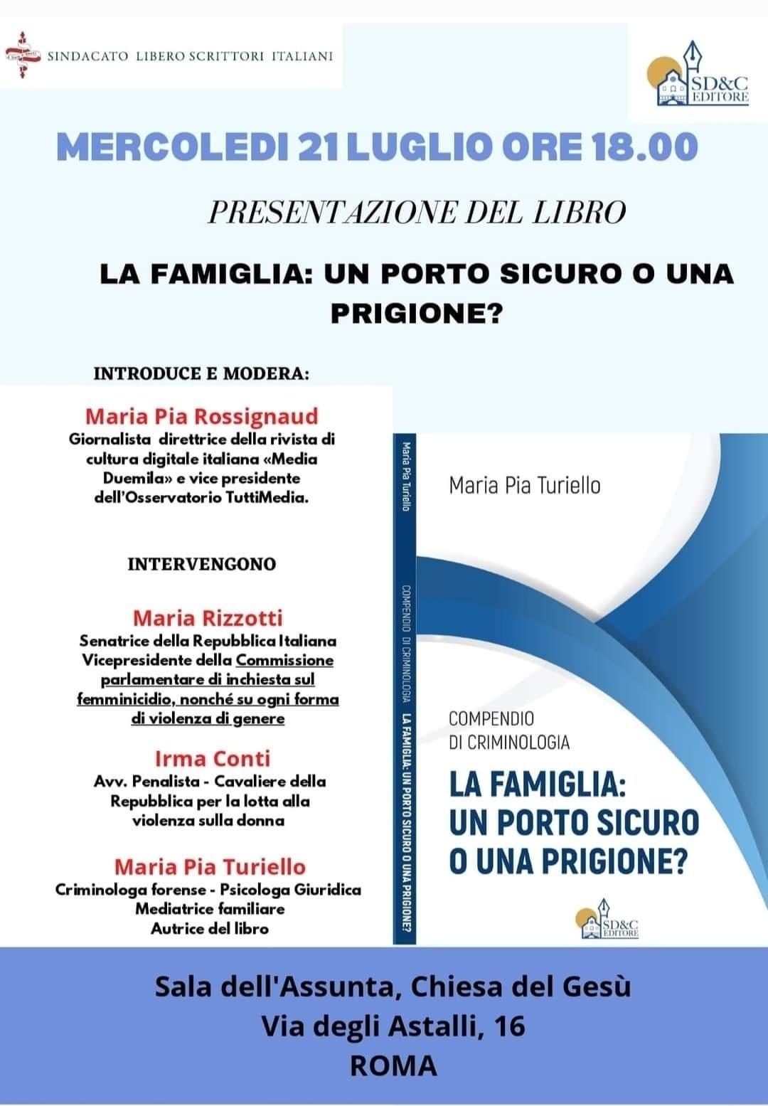 evento_presentazionelibro_Maria Pia Turiello